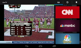 Screenshot of XFINITY TV Go