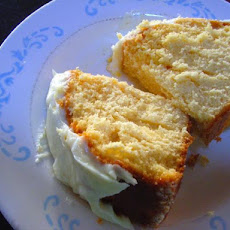 Rich Custard Butter Cake