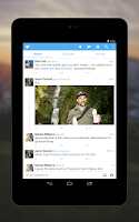 Screenshot of Twitter