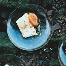 Almond Praline Semifreddo with Grappa-Poached Apricots