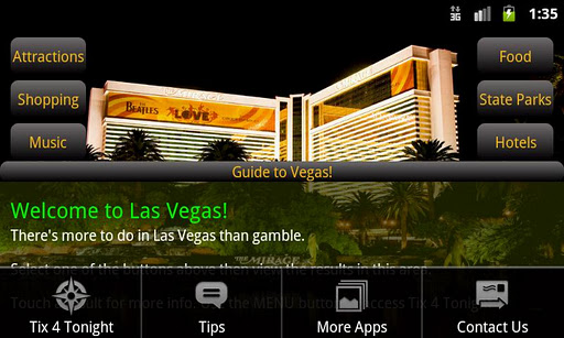 Guide to Vegas