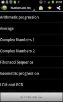 Screenshot of Math Calculator
