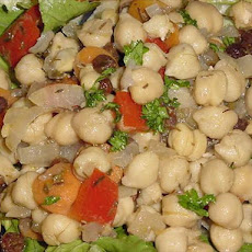 Marinated Garbanzo Salad