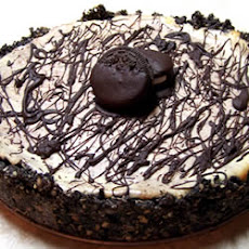 Chocolate Almond Marble Cheesecake