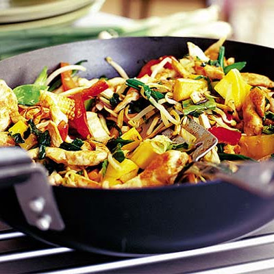 Chicken & Mango Stir Fry