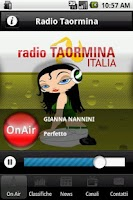 Screenshot of Radio Taormina