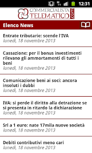 Commercialista Telematico News - screenshot