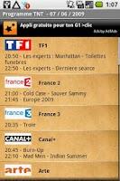 Screenshot of Programme TV