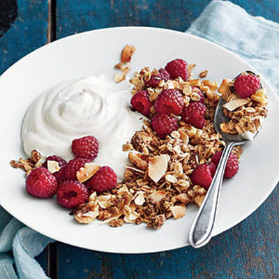 Sunflower Granola Breakfast Parfaits
