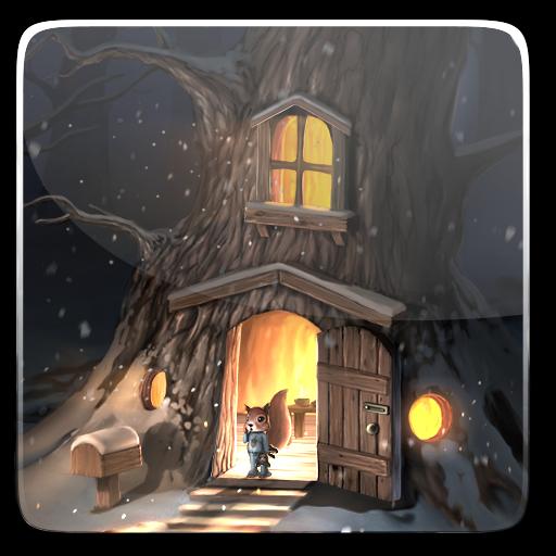 个人化の初雪ライブ壁紙 LOGO-記事Game