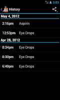 Screenshot of Medi Droid Pill Reminder