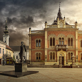 Zmaj by Bojan Dzodan - Buildings & Architecture Public & Historical ( novi sad, serbia, street, monument )