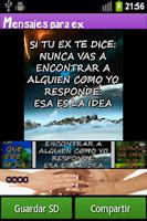 Screenshot of Mensajes e Imágenes para ex