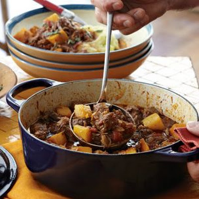 Pork and Pumpkin Stew