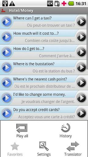 iSayHello 英语 - 法语