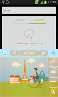 Screenshot of Paris Keyboard Free