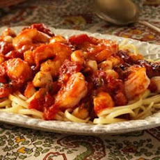 Seafood Marinara with Linguine