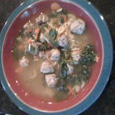 Audry's Italian Wedding Soup for Mom