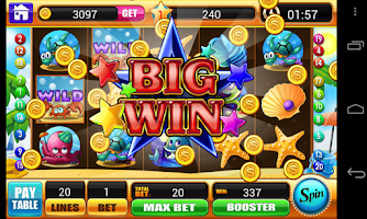 Screenshot of Ocean Story Slots-slot machine