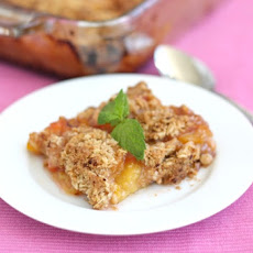 Double-Crusted Plum Crisp