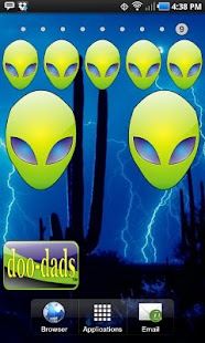 Alien Head green doo-dad - screenshot