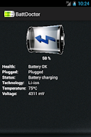 Screenshot of Battery Manager Pro