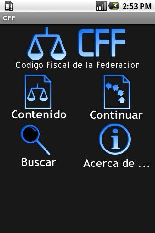 CFF - Código Fiscal de la Fede