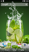Screenshot of Mojito Live Wallpaper