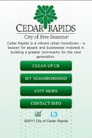 Screenshot of Cedar Rapids