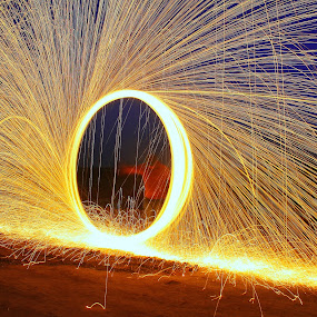 Steel Wool - Different Perspective! by Ahsan  Niaz - Abstract Fire & Fireworks