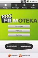 Screenshot of Filmoteka
