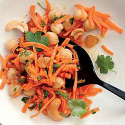 Moroccan Carrot-Chickpea Salad