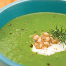 Walnut and Broccoli Soup