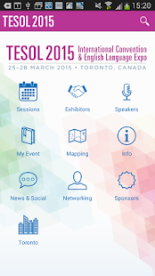 2015 TESOL Convention - screenshot