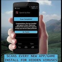 Screenshot of antivirus android phones 2015