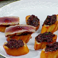 Tuna and Olive Crostini