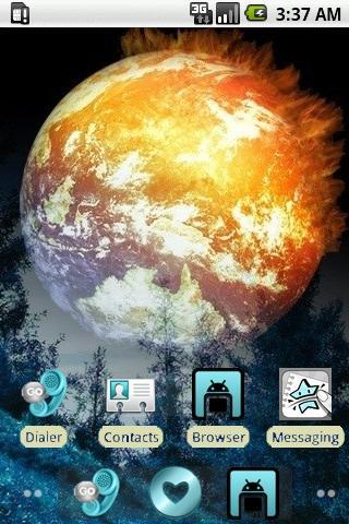 Burning Space [SQTheme] ADW