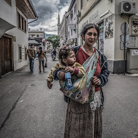 by IP Maesstro - People Maternity ( child, hdr, bosnia, beggars, baby, maesstro, mostar,  )