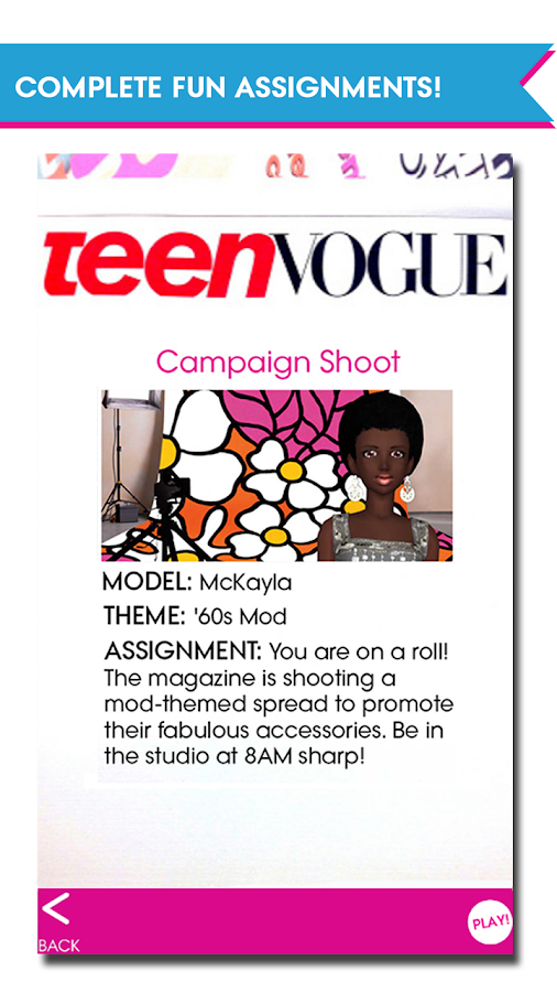 Teen Vogue Me Girl Screenshot 6