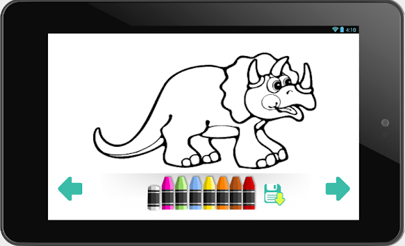 Coloring Book Dinosaurs APK 13