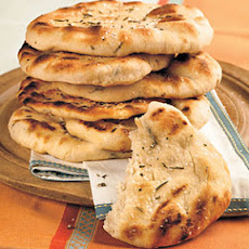 Grilled Rosemary Flatbreads