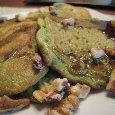 Green Monster Pancakes