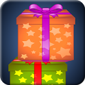 You have to stake gifts one top of the other one. If you can place the gift in the perfect position, you will get bonus point. APK Icon