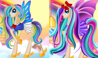 Screenshot of Pony Princess Hair Salon