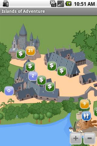 Florida Theme Park Maps
