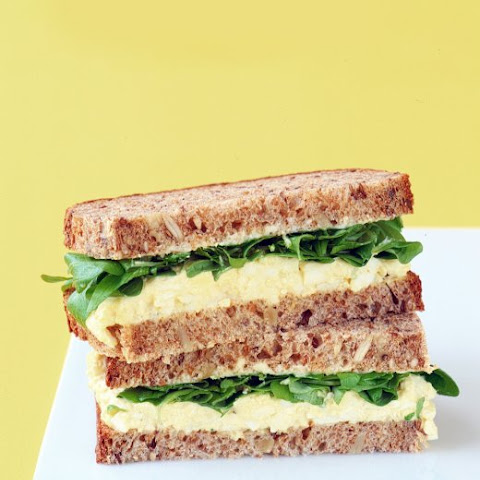 Martha's Favorite Egg Salad Sandwich Recipe — Dishmaps