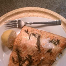 Lemon and Butter Herb Salmon