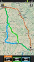 Screenshot of Garmin HUD Europe