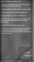 Screenshot of Al-Quran Bahasa Indonesia