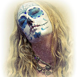 by Cee Rivera - People Body Art/Tattoos ( face paint, sugar skull )